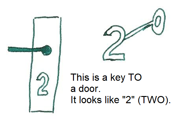 key to  - klucz do